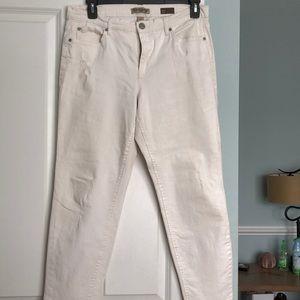 Off-white boyfriend jeans